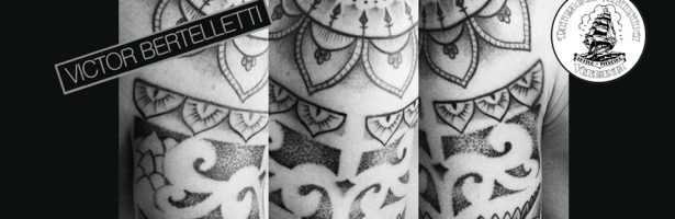 Tatuaggio dotwork a Verbania, mandala e tribale