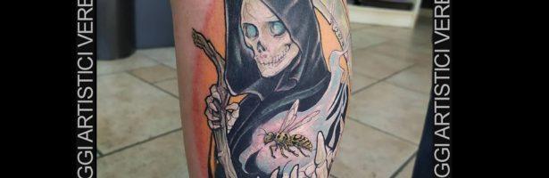Grim reaper, la triste mietitrice